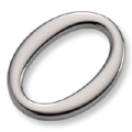 Flat Oval Ring