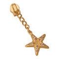 Starfish Zipper Pull